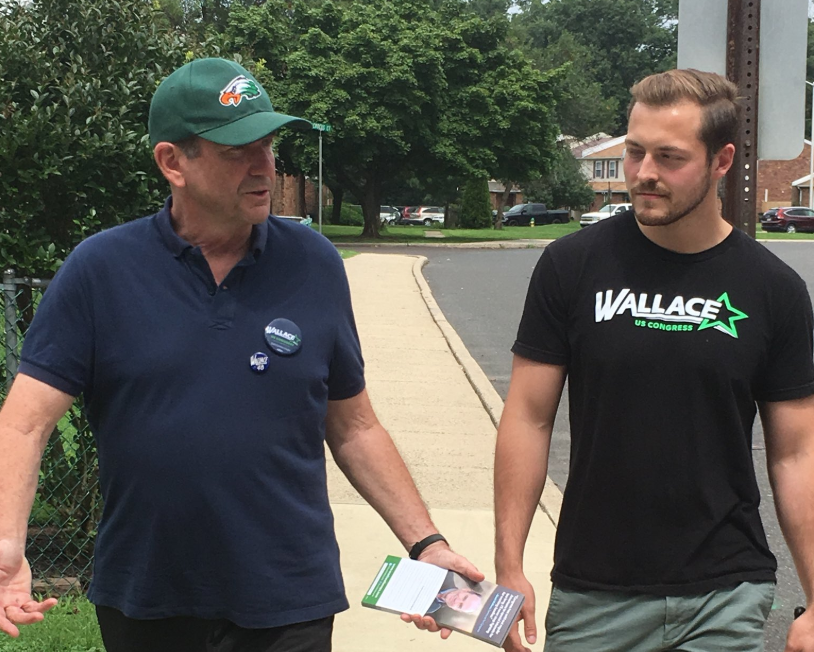 Weekend Canvass for Wallace in Quakertown
