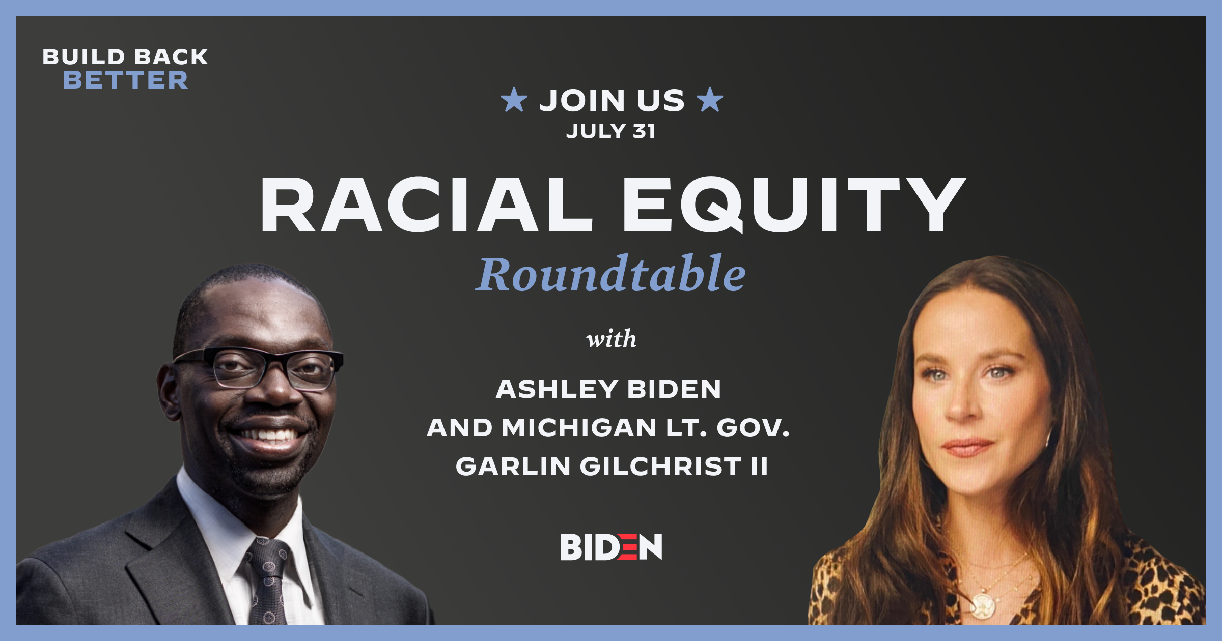 Racial Equity Roundtable With Ashley Biden And Michigan Lt Gov Garlin Gilchrist Ii Joe Biden For President